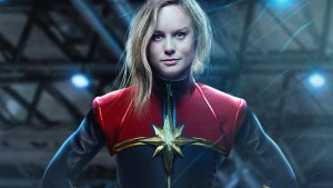 Brie Larson Captain Marvel suit