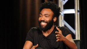 2016 FX WINTER TCA: Creator/Executive Producer/Writer/Cast Member Donald Glover during the ATLANTA panel at the 2016 FX WINTER TCA at the Langham Hotel, Saturday, Jan. 16 in Pasadena, CA. CR: Frank Micelotta/FX
