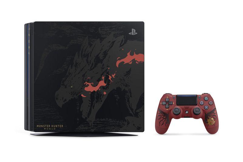 PS4 Pro Monster Hunter