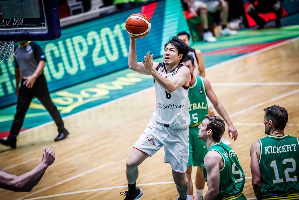 japan basketball national team fiba world cup november 2017 qualifier roster