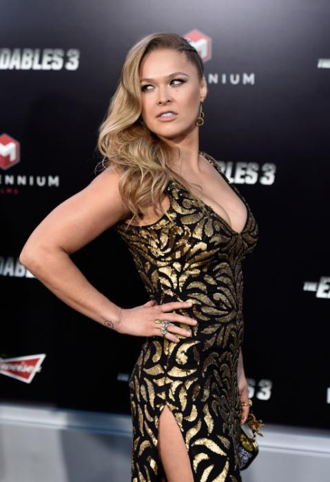 Ronda Rousey To Star In Her Biopic
