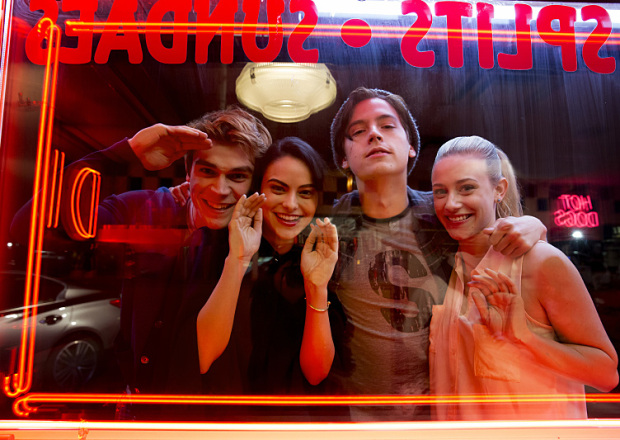 riverdale season two cast