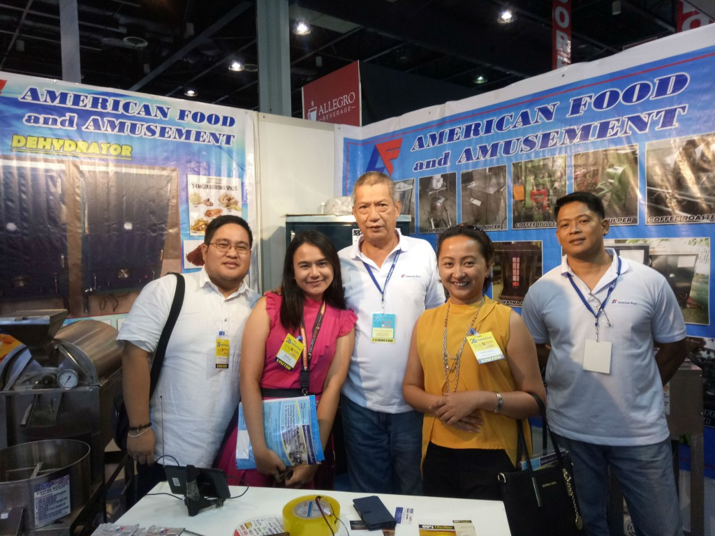 Global WebForce PH team with American Food and Amusement's Vice President Mr. Raul Panganiban
