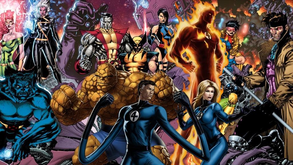MCU Fantastic Four & X-Men