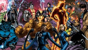 MCU Fantastic Four & X-Men