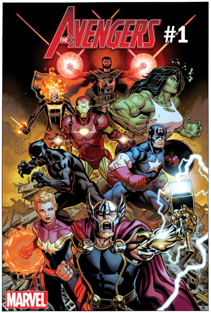 Avengers May 2018