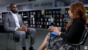 LeBron James Interview