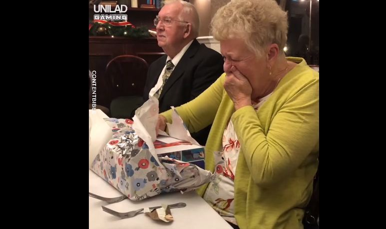 Tears for Grandma